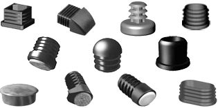 Plugs for square tubes