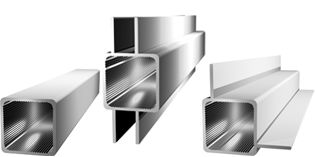 Profiles, aluminium and plastic